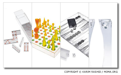karim Rashid objects at Moma Store